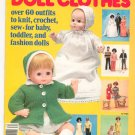 McCall's Fashions Doll Clothes Volume 2 Vintage 1977 Baby Toddler