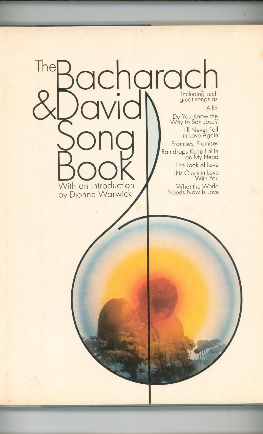 The Bacharach & David Songbook Song Book Dionne Warwick 671204947 Vintage Piano Guitar