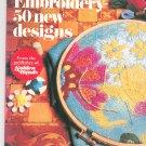 Vintage Embroidery 50 New Designs Golden Hands 1973
