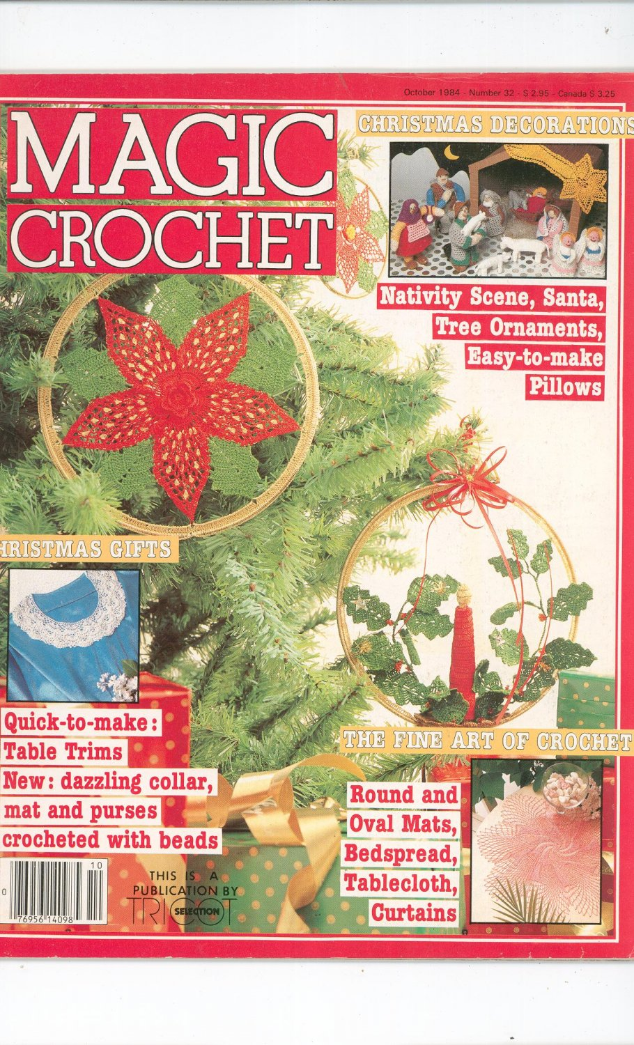 Magic Crochet Number 32 October 1984 Tricot Selection