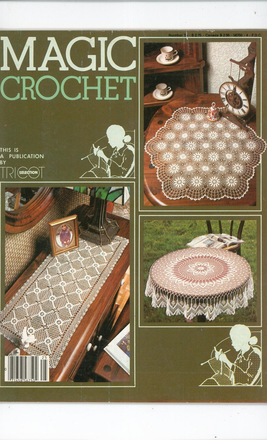 Magic Crochet Number 25 June 1983 Tricot Selection