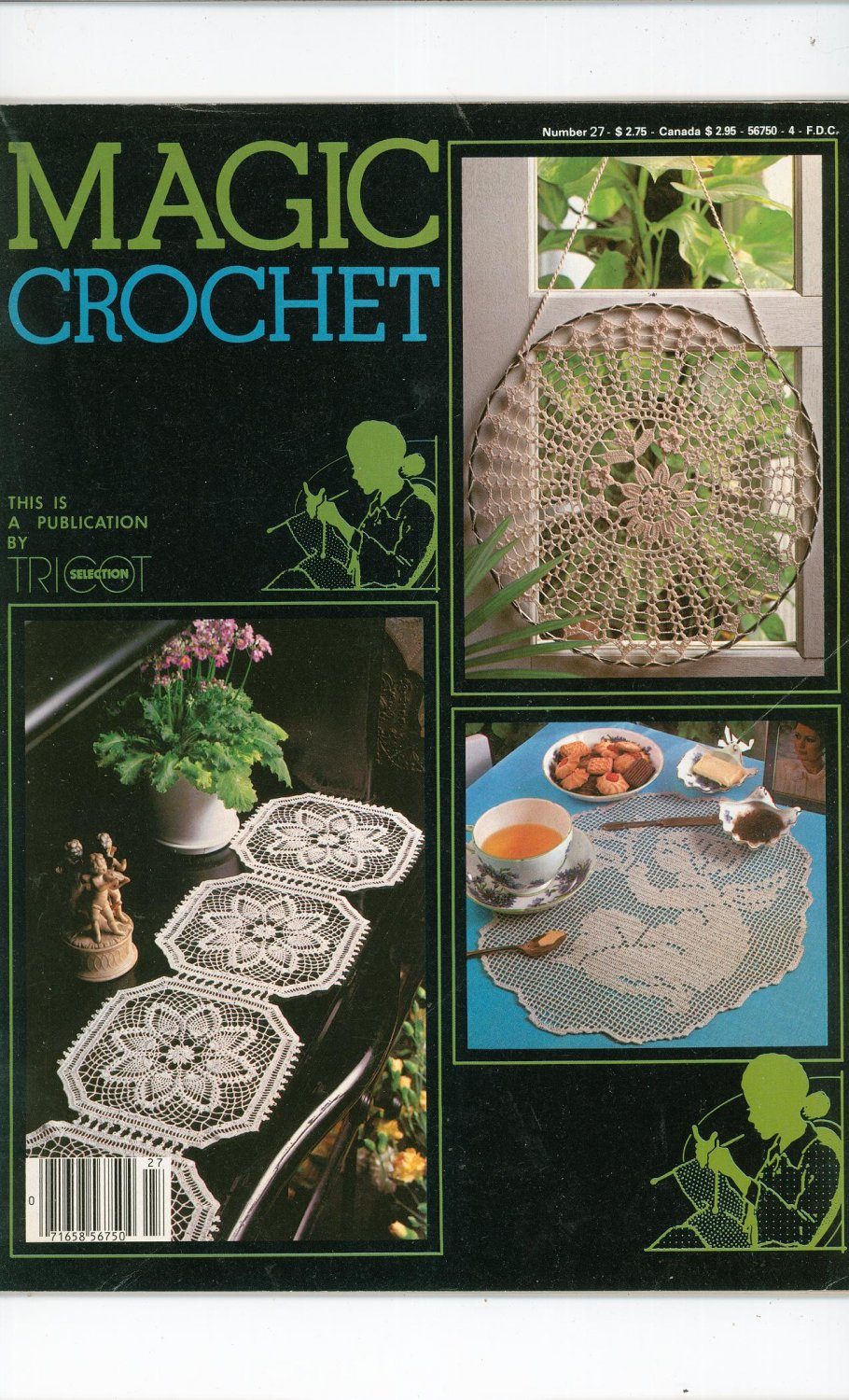 Magic Crochet Number 27 October 1983 Tricot Selection