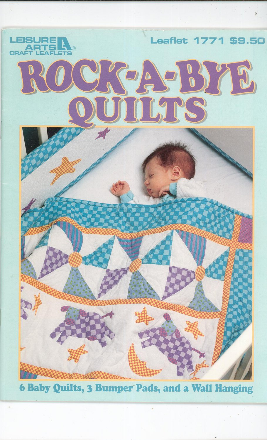 Rock A Bye Quilts By Leisure Arts 1771 Bumper Pads Wall Hanging