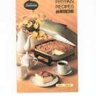 Sunbeam Frypan Recipes Cookbook Manual Vintage 1972 With Warranty Card