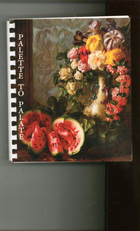 Palette To Palate Cookbook Junior League & Albrecht Art Museum Missouri 0961537205