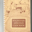 Rochester Heritage Cookbook Regional New York Salvation Army Vintage 1963