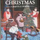 Better Homes And Gardens American Christmas Crafts & Foods Cookbook Plus 0696005859 First Edition