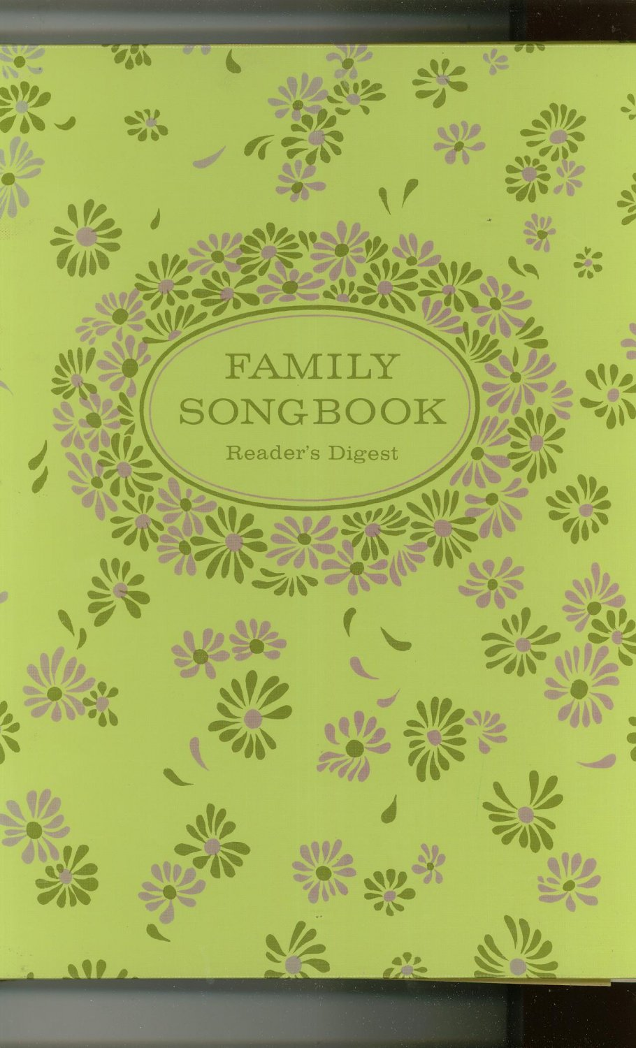 Vintage Family Song Book by Reader's Digest 1969 Shipping Special