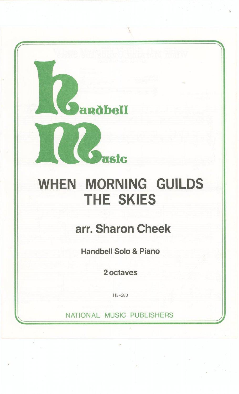 Lot Of 6 Assorted Handbell Sheet Music Pieces