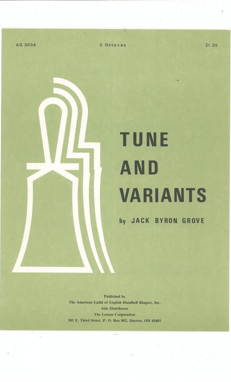 Tune And Variants By Jack Byron Grove AG 3034 Handbell 3 Octaves