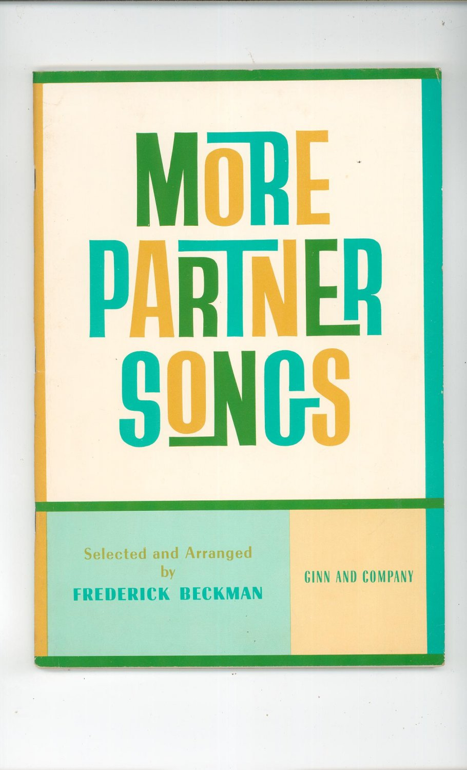 More Partner Songs By Frederick Beckman Vintage Ginn & Company