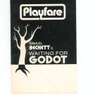 Playfare Samuel Beckett's Waiting For Godot Volume 3 June 1971 Issue 6