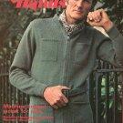 Golden Hands Part 48 Machine Knitted Jacket For Men Embroidery Macrame Vintage