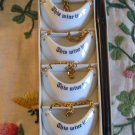 Set Of 4 Wine Markers By The Shafford Company Complete With Original Box 212 1 Set