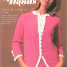 Golden Hands Part 15 Crochet Suit Knitting Baby Bootees Embroidery Dressmaking Vintage