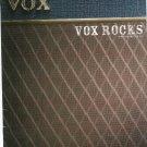 VOX Amp Catalog