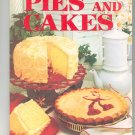 Better Homes & Gardens Pies And Cakes Cookbook Vintage