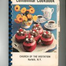 Regional Centennial Cookbook Church Of The Visitation Norfolk New York