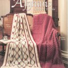 Heirloom Afghans Seventeen Designs Knit Crochet Afghan Stitch By Marion Graham Leisure Arts 971