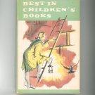 Vintage Best In Children's Books Volume 11 1958 Nelson Doubleday