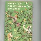 Vintage Best In Children's Books Volume 16 1958 Nelson Doubleday