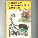 Vintage Best In Children's Books Volume 14 1958 Nelson Doubleday