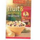 Sun Maid Fruit & Sunshine Recipe Book Cookbook