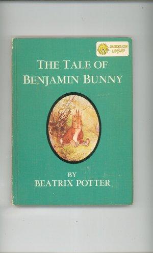 Vintage Tale Of Benjamin Bunny & Babar & His Children Dandelion Library Hard Cover