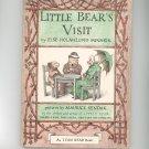 Vintage Little Bear's Visit By Else Holmelund Minarik 1961 Hard Cover