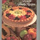Favorite Family Recipes Cookbook 091068264 Heritage house