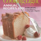 Cooking Light Annual Recipes 2001 Cookbook 0848719972 Hard Cover