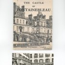 The Castle Of Fontainebleau By Charles Terrasse Plus Postcard Vintage 1952