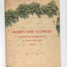 Vintage Homes And Flowers Refreshing Arrangements  Volume 3 Burroughs Coca Cola