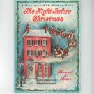 The Night Before Christmas Clement Moore Whitman Big Tell A Tale 2447