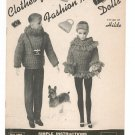 Vintage Clothes For Fashion Model Dolls Craft Book Styled By Hilde Volume 99