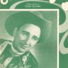 Slipping Around Vintage Sheet Music Peer International Corp.