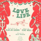 Here I'll Stay Love Life Vintage Sheet Music Chappell & Co. Marlo