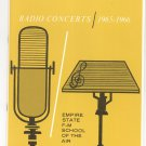 Vintage Radio Concerts 1965-1966 Empire State F-M School Air Program