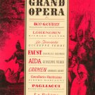 The New And Enlarged Treasury Of Grand Opera Henry W. Simon Hard Cover