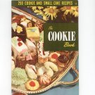 Vintage 250 Cookie & Small Cake Recipes Cookbook Culinary Arts Encyclopedia Of Cooking 17 1954