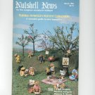 Nutshell News Complete Miniatures Hobbyist Magazine Back Issue March 1983 Craft