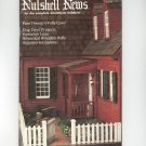 Nutshell News Complete Miniatures Hobbyist Magazine Back Issue July 1984 Craft