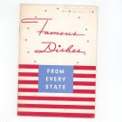Vintage Famous Dishes From Every State By Frigidaire Corporation 1936