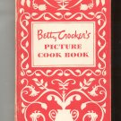 Vintage Betty Crocker's Picture Cook Book Cookbook Hard Cover 1950 First Edition