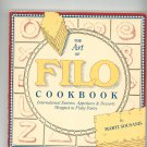 The Art Of Filo Cookbook By Marti Sousanis 0943186056