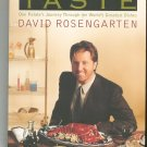 Taste Cookbook By David Rosengarten First Edition 037575265x