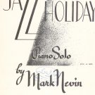 Vintage Jazz Holiday Sheet Music Schroeder & Gunther Inc.