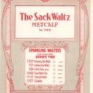 Vintage The Sack Waltz  Sheet Music Century Music Publishing Co.