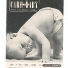 Vintage Lot Ladies Home Journal Care Of The Baby Dr. Herman N. Bundesen 1941