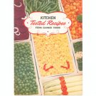 Vintage Kitchen Tested Recipes From Canned Food Cookbook